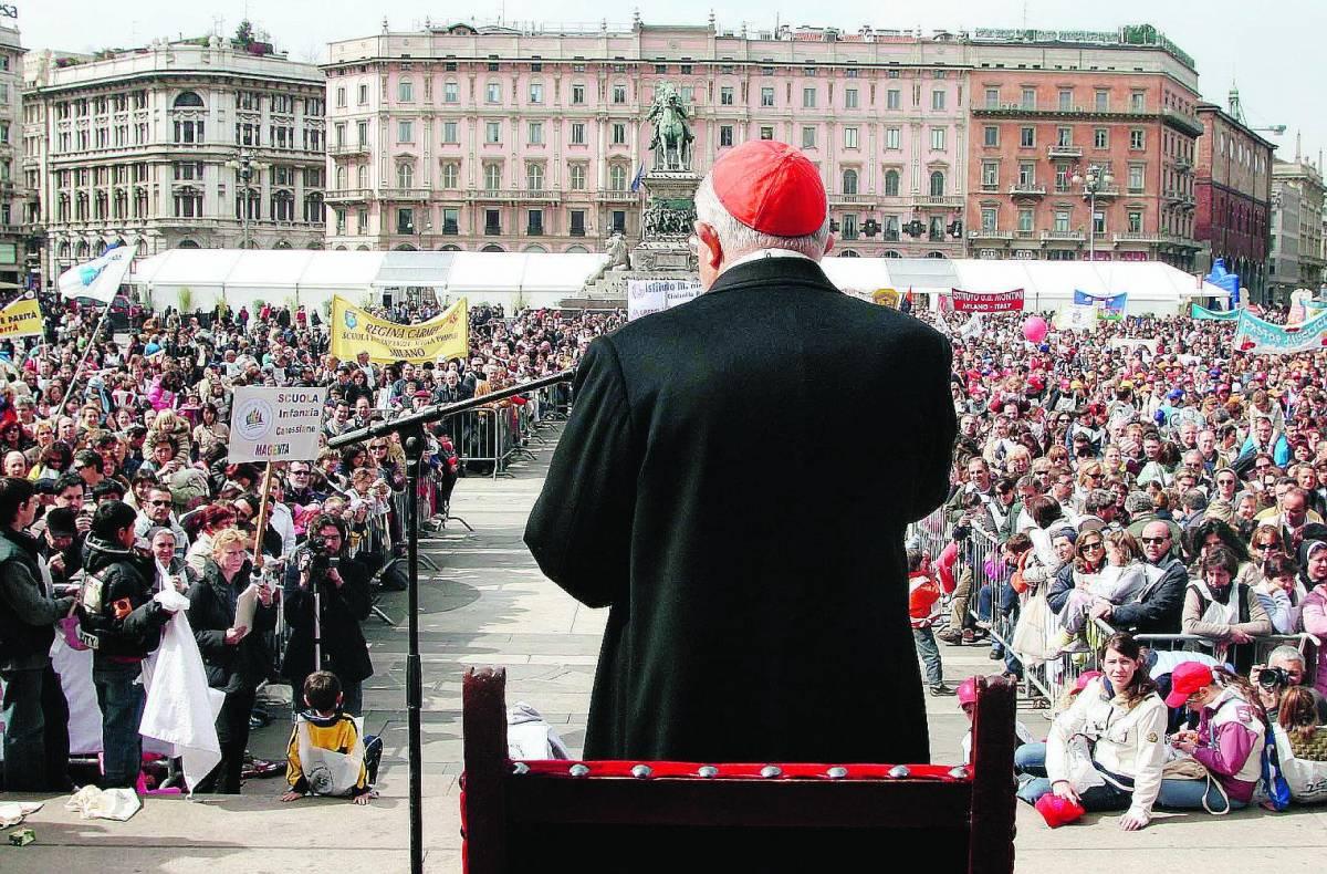 «Andemm al Domm», in 30mila col cardinale