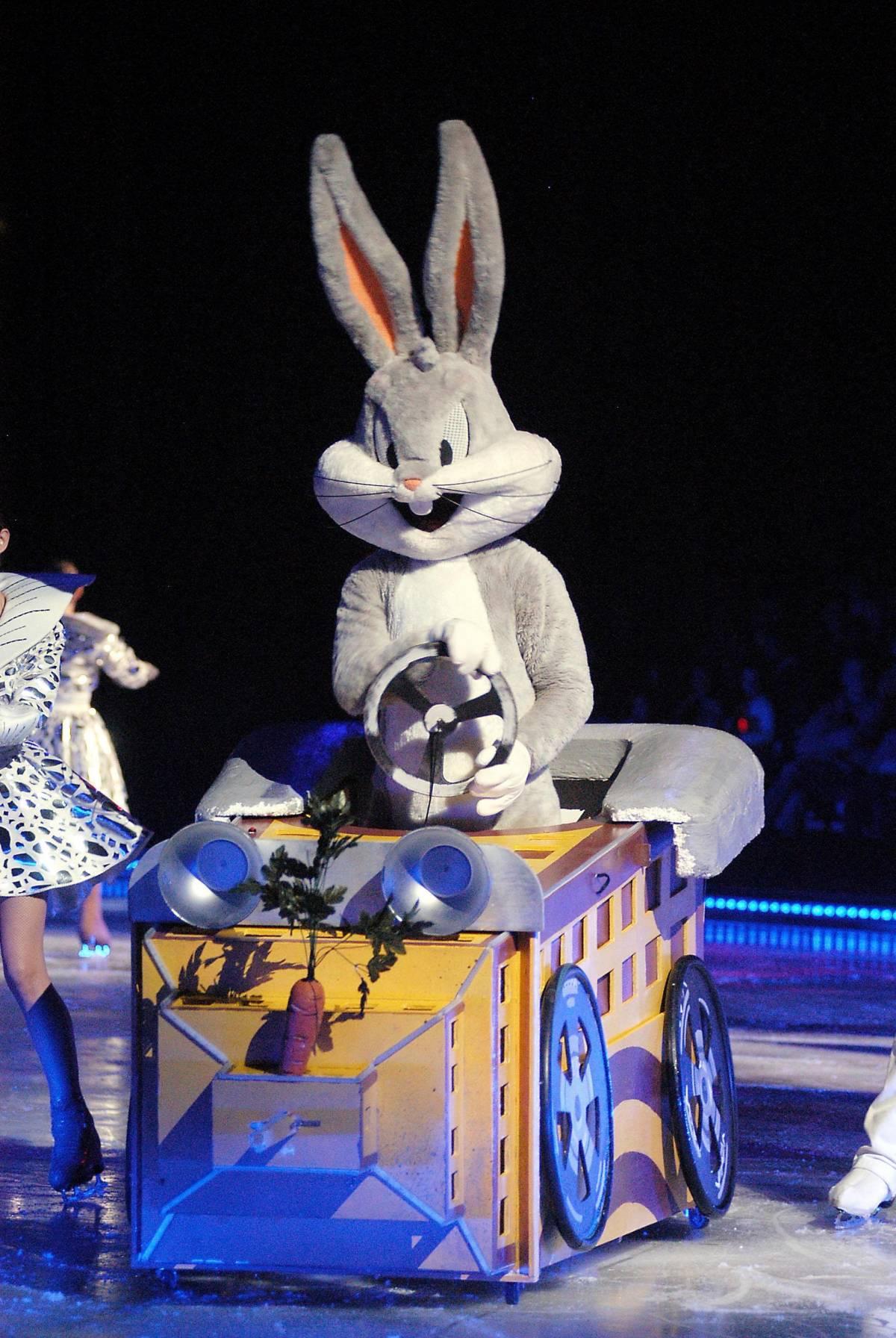 Bugs Bunny & C. sui pattini per i bambini