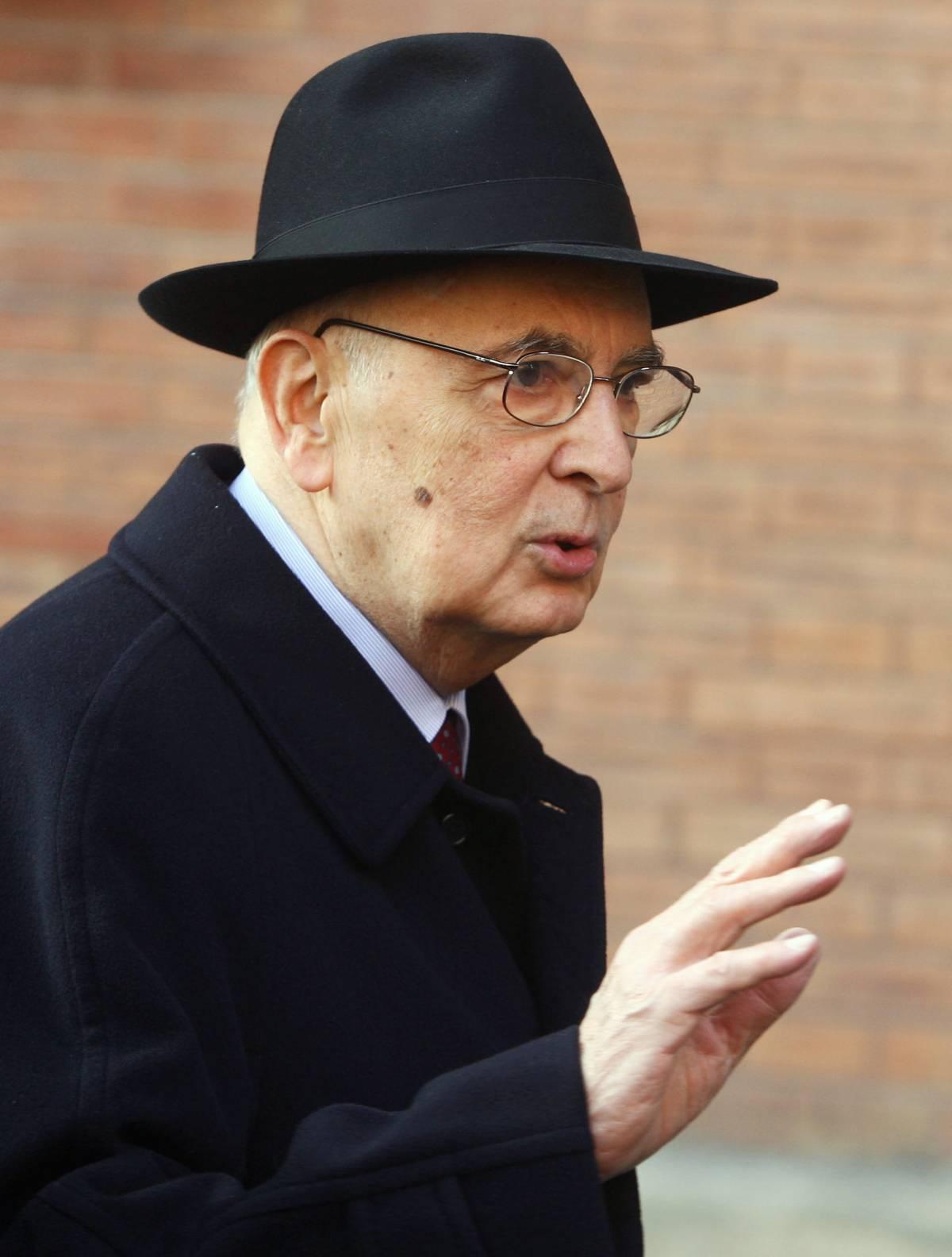 L'amarezza di Napolitano: a vuoto i miei appelli