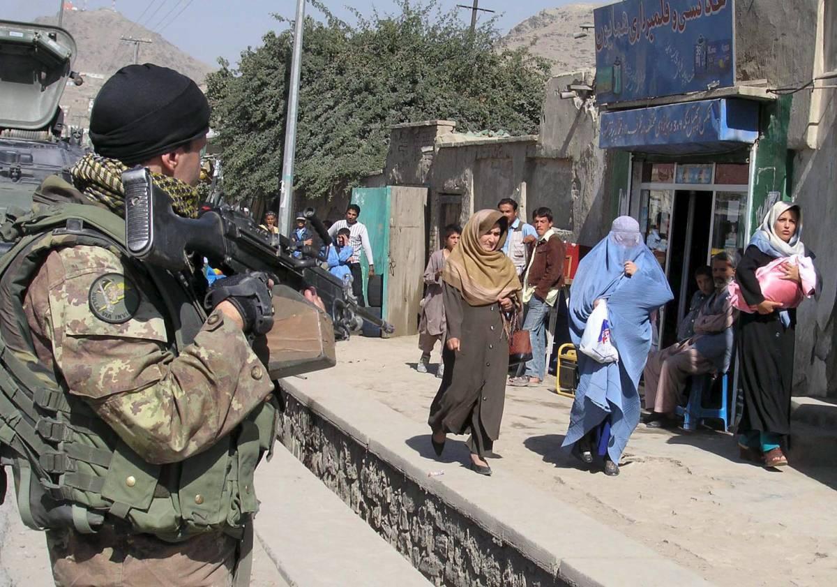 Afghanistan, ferito un soldato italiano