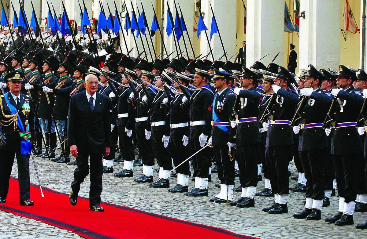 Napolitano: siamo  a Kabul per la pace E la sinistra radicale tace imbarazzata