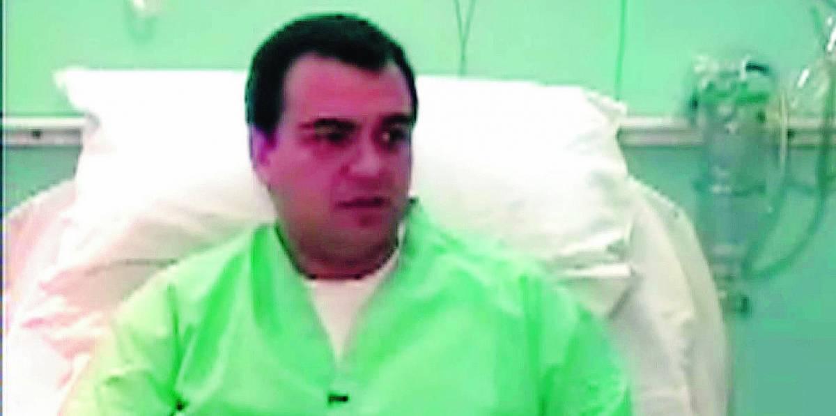 Scaramella in ospedale dopo 100 giorni di cella