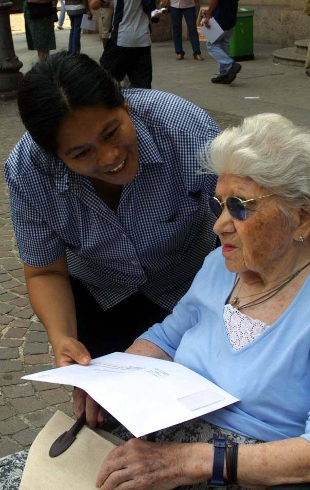 Stanno per arrivare le badanti «doc» per gli anziani liguri