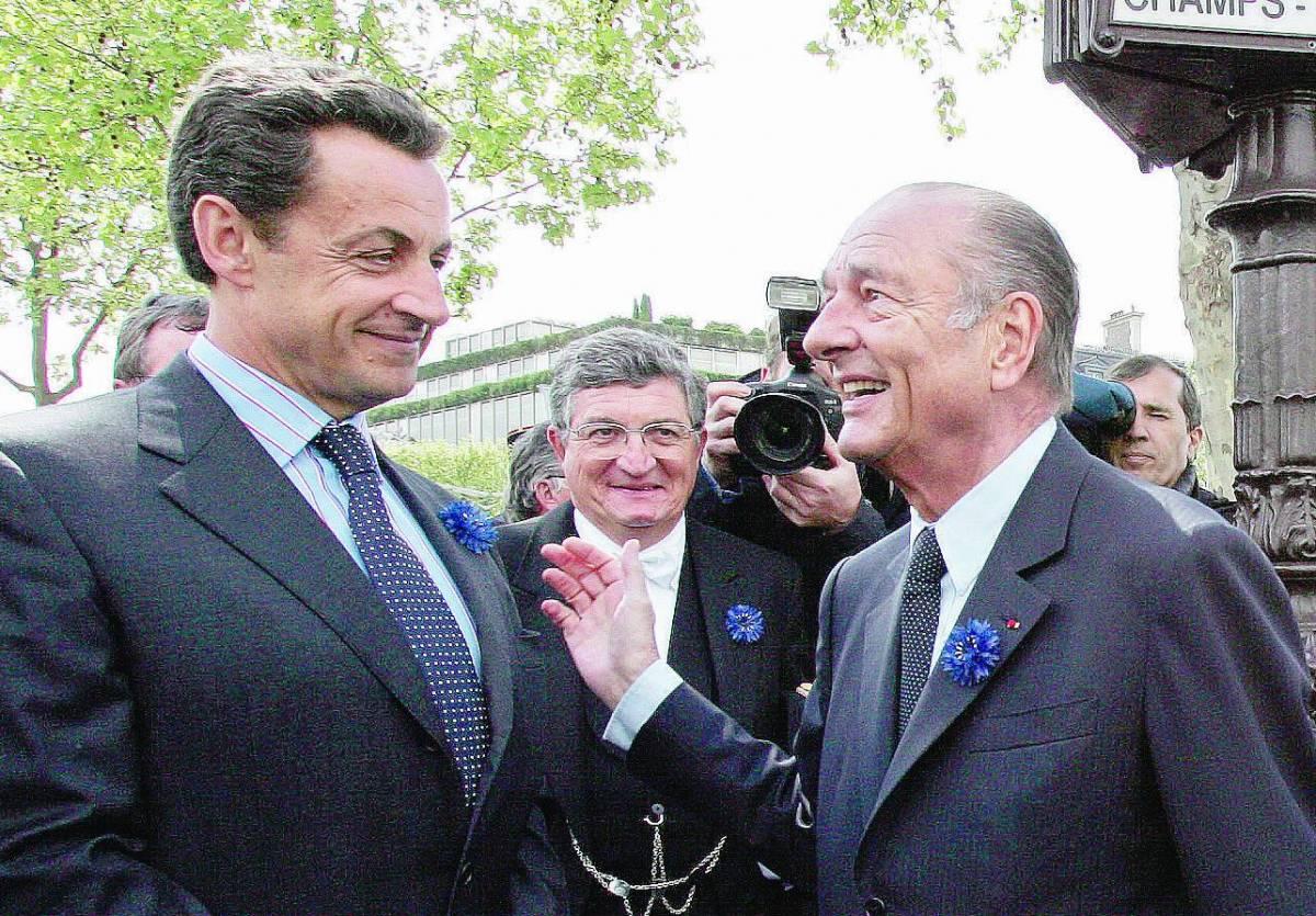 «Sarkozy ha promesso l'impunità a Chirac»