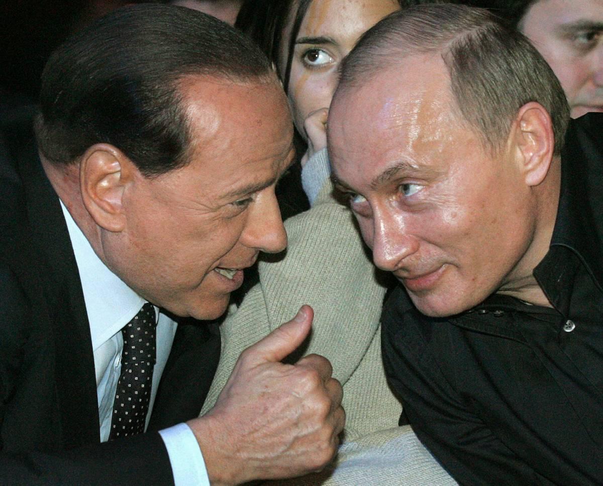 """Berlusconi: """"Putin ha le sue ragioni"""""""