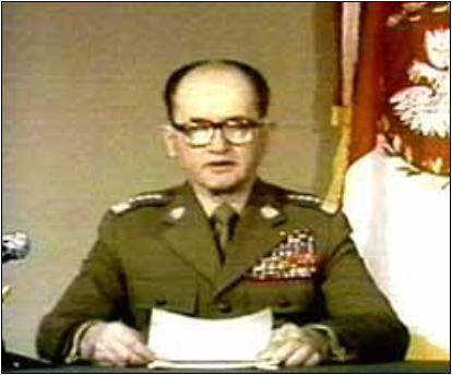 Jaruzelski incriminato per la legge marziale del 1981
