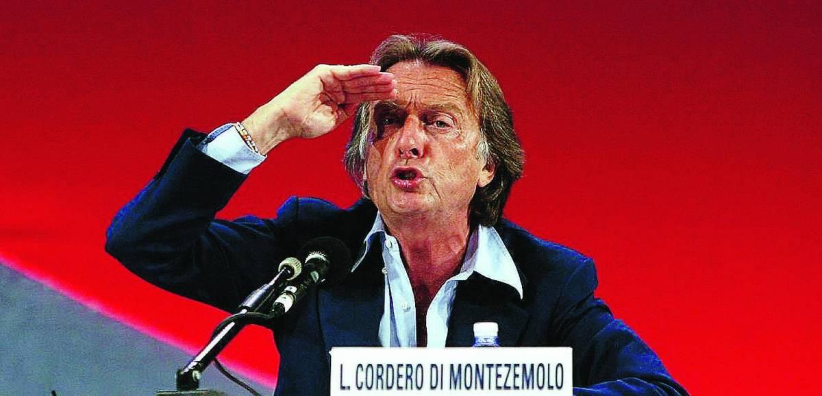 """Montezemolo: """"Lo Stato non scelga gli azionisti di Telecom"""""""