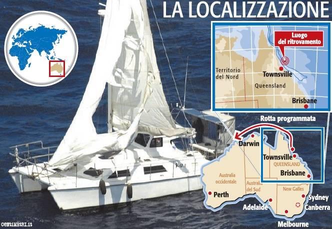 Mistero nell'oceano: caccia all'equipaggio dello yacht fantasma