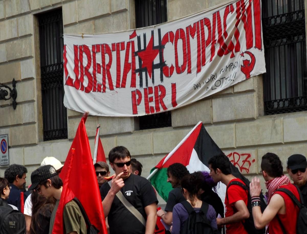 Milano, i no global vogliono la Liberazione dei brigatisti