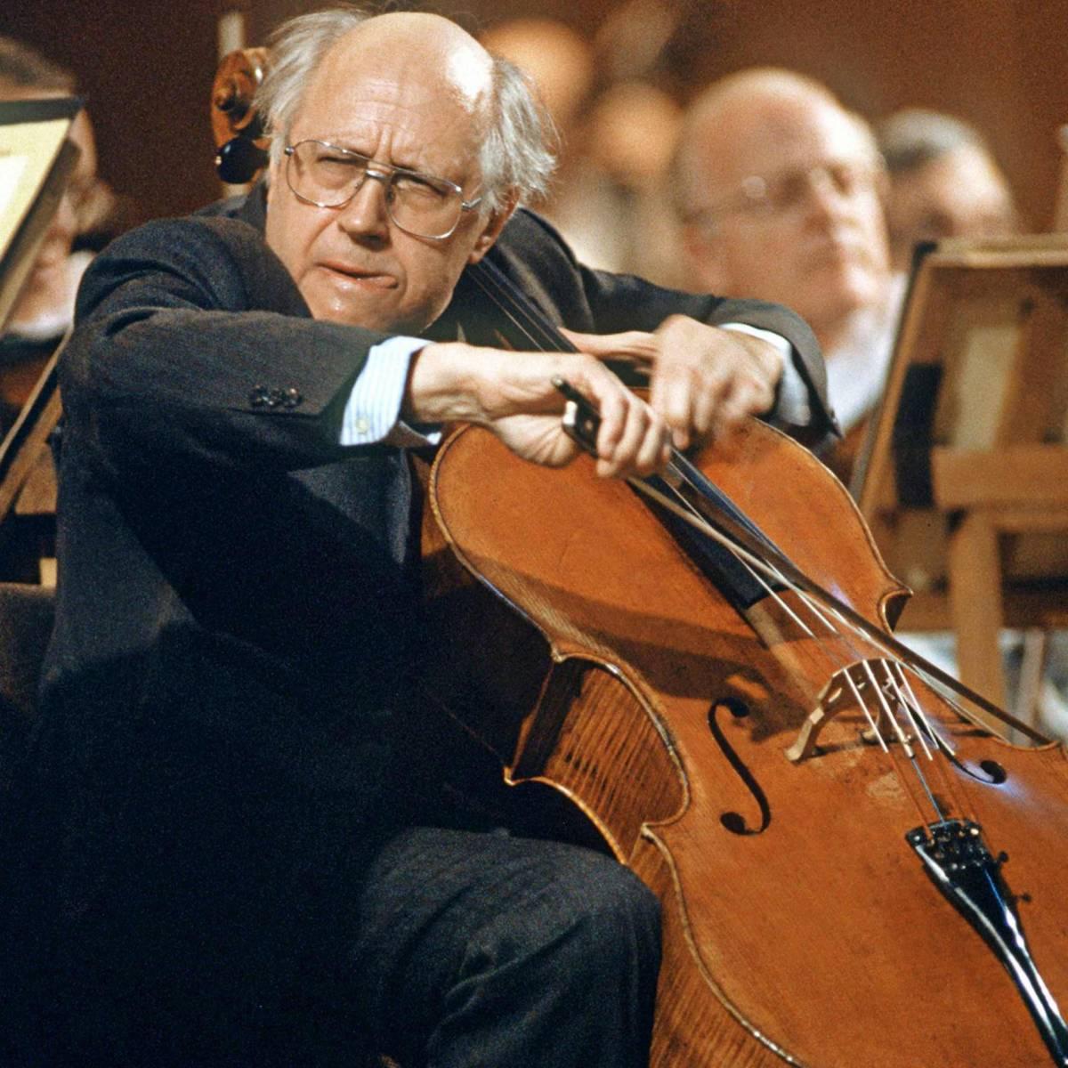 È morto il violoncellista Mistislav Rostropovich
