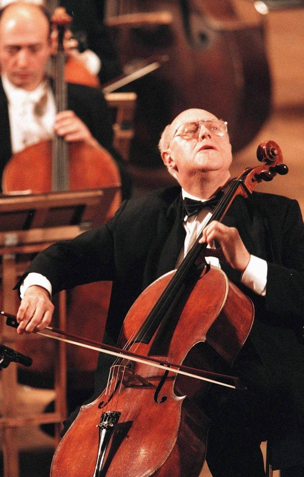Rostropovich, il violoncello della libertà