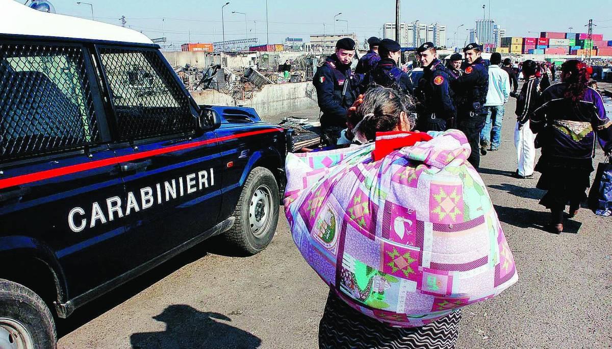 «Scuole disertate,  i piccoli rom mandati a rubare»