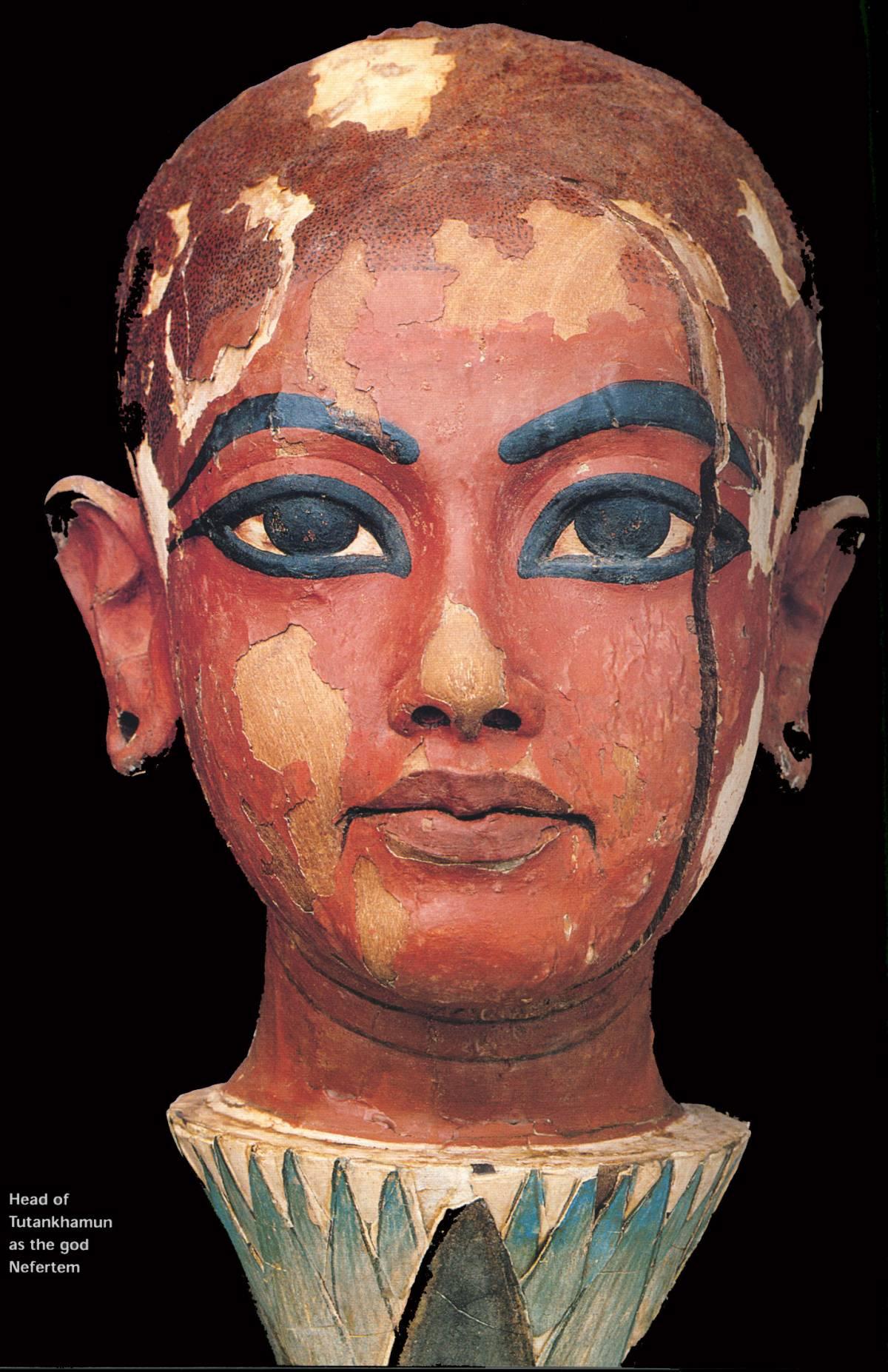 Ecco il volto del Faraone morto tremila anni fa