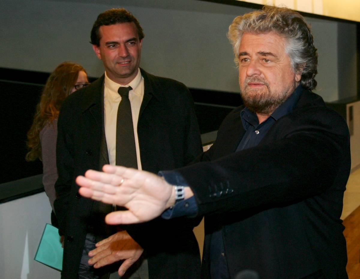 Show al Parlamento Ue, da Grillo  e De Magistris processo a sinistra