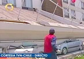 Cile, violentoterremoto: 40 feriti