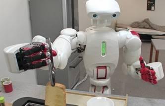 Arriva Twendy-One: robot cuoco dalle mani di velluto