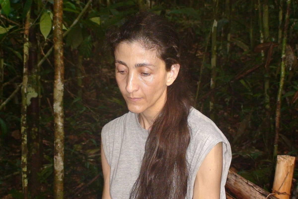 La Betancourt è viva:  un video in Colombia