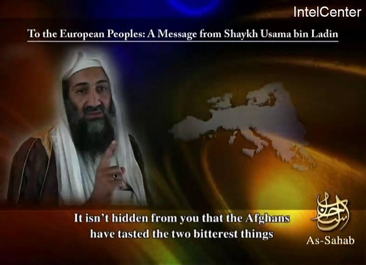 Bin Laden minaccia Berlusconi
