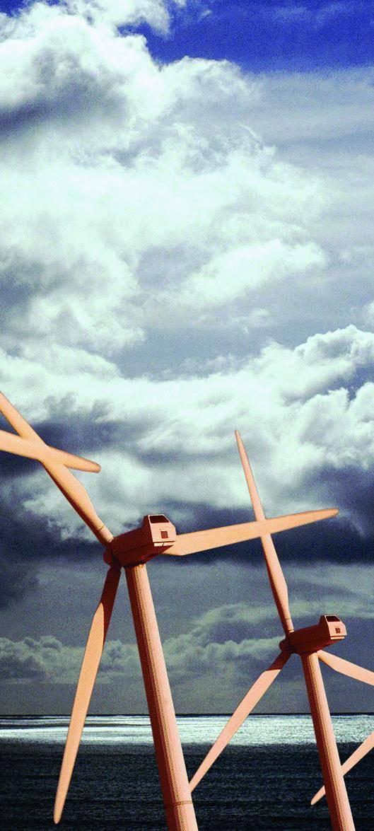 L'energia si produce in mare: 12 mulini sulla diga di Voltri