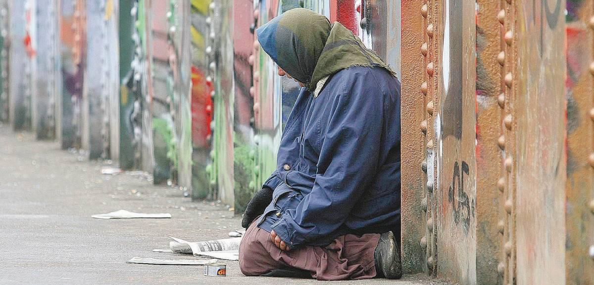 Un mendicante a New York può guadagnare fino a 200 dollari all'ora