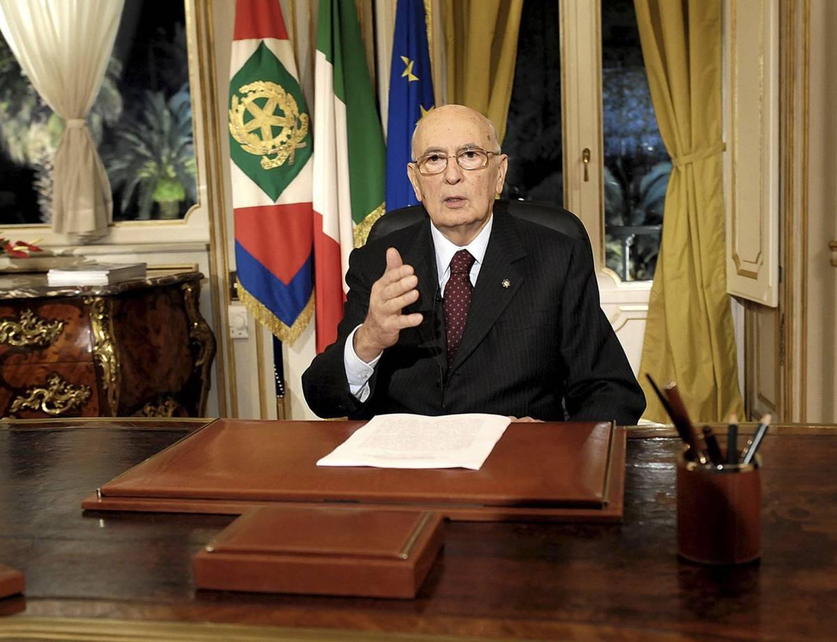 """Discorso di Napolitano   """"Dalla crisi esca  un'Italia più giusta"""""""