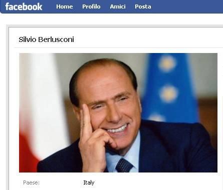 Web: su Facebook Berlusconi   stravince la sfida dei fans