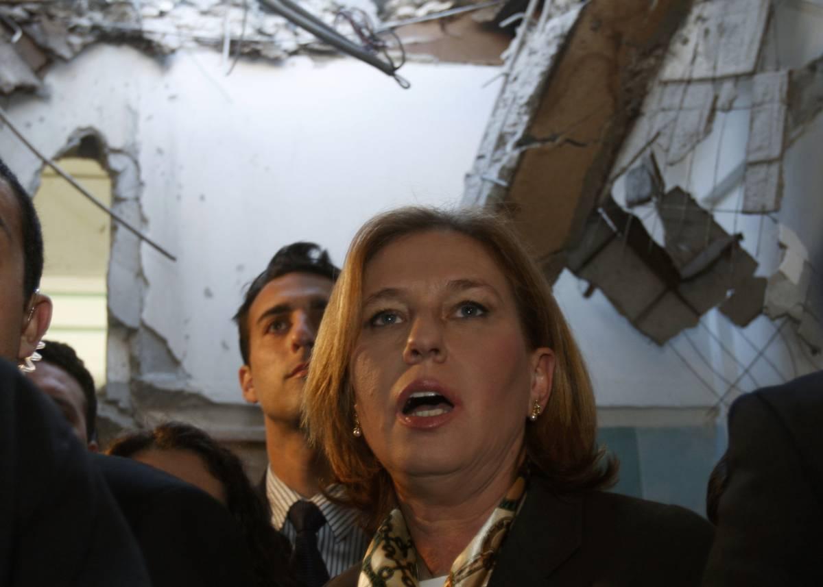 """Livni a Parigi: """"La tregua non serve""""  Gaza, ucciso uno dei leader di Hamas"""