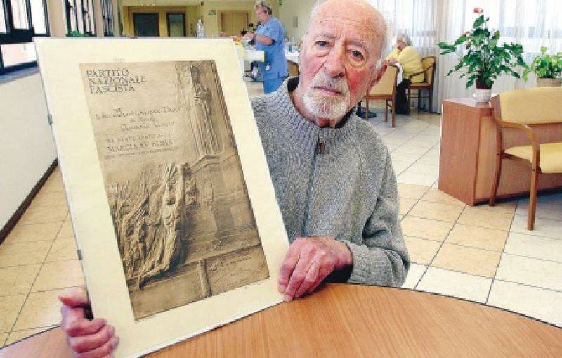 Varese, è morto l'ultimo veterano   della Marcia su Roma: aveva 105 anni