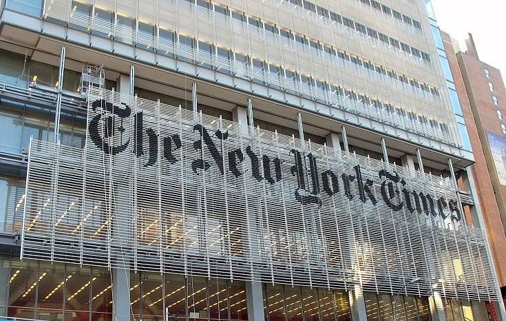 Contro la crisi il New York Times  mette in prima pagina la pubblicità