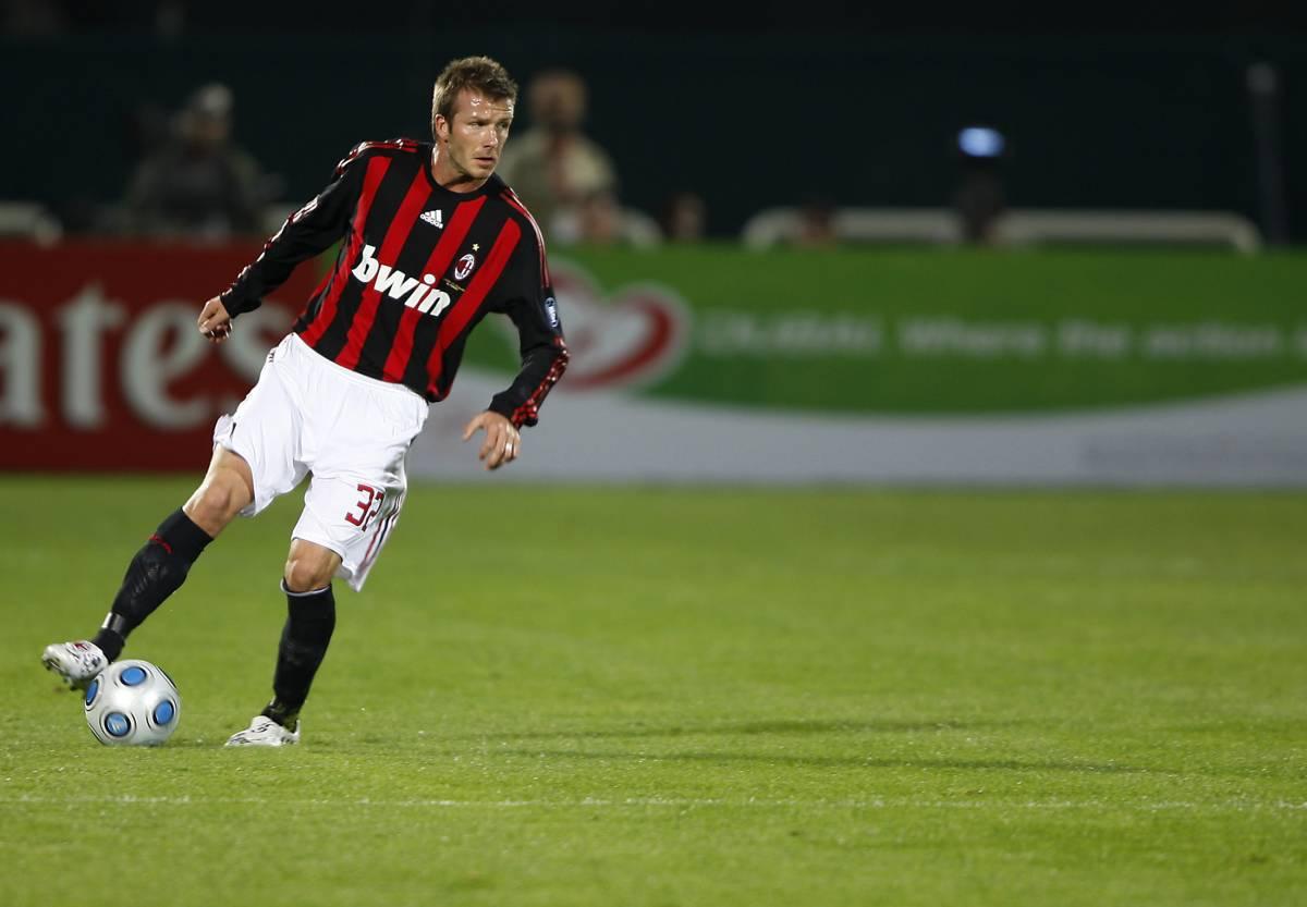 Beckham: il Milan   lo ha già promosso