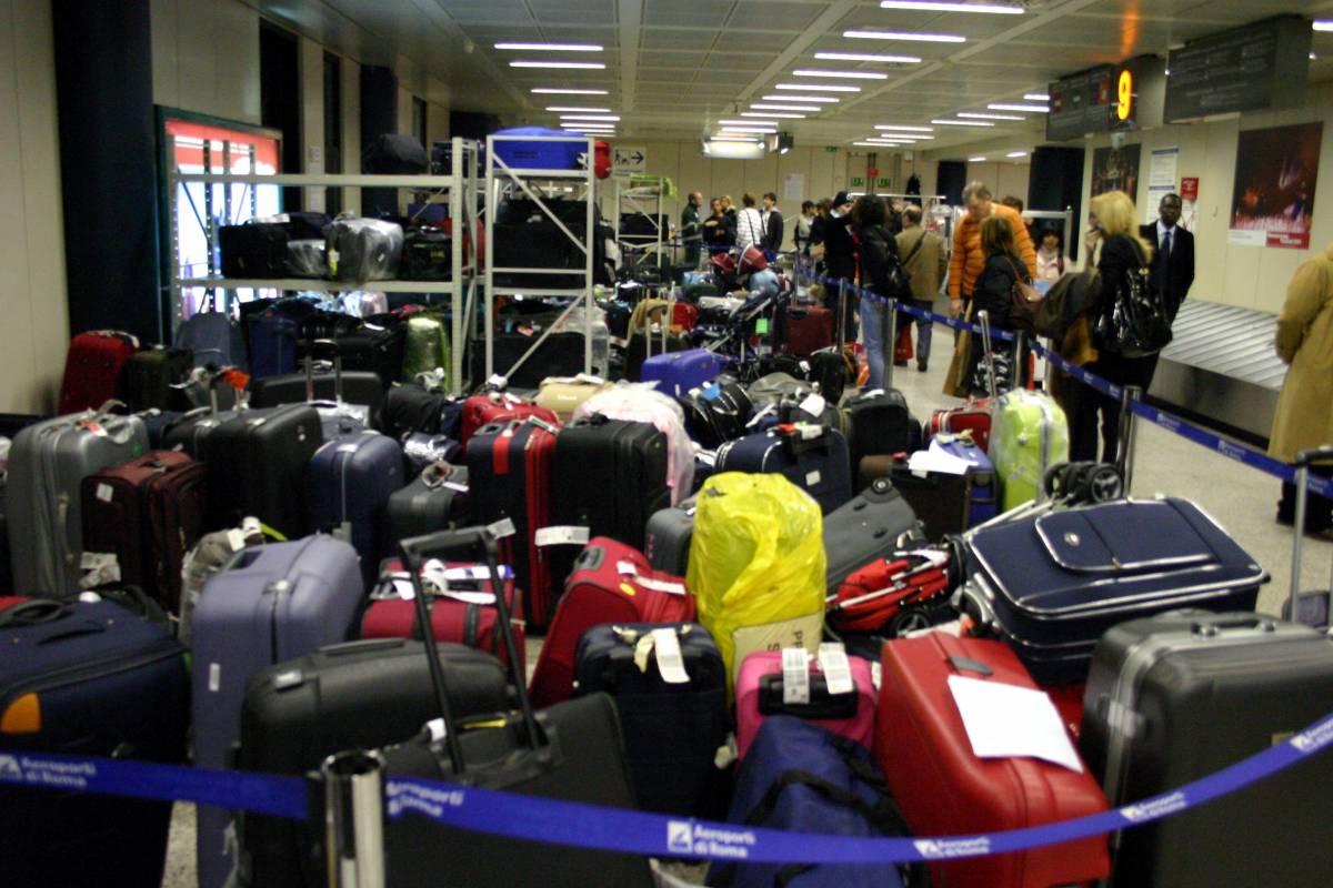Sciopero selvaggio a Fiumicino: cancellati 135 voli