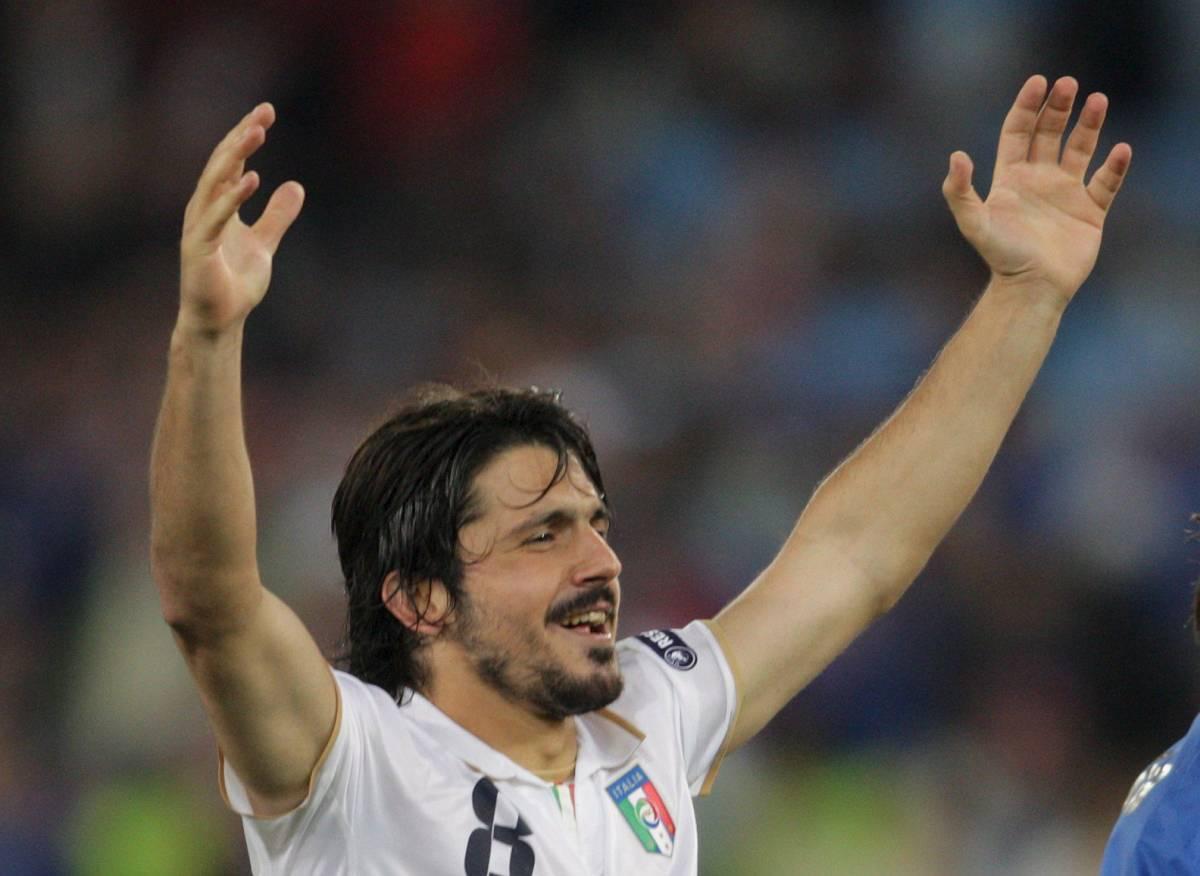 Gattuso, sogno proibito delle italiane