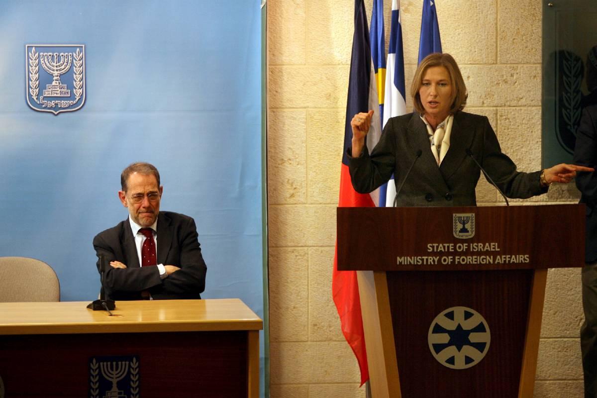 """Gaza, la Livni: """"Noi andiamo avanti""""  Bush: tregua condizionata a stop razzi"""