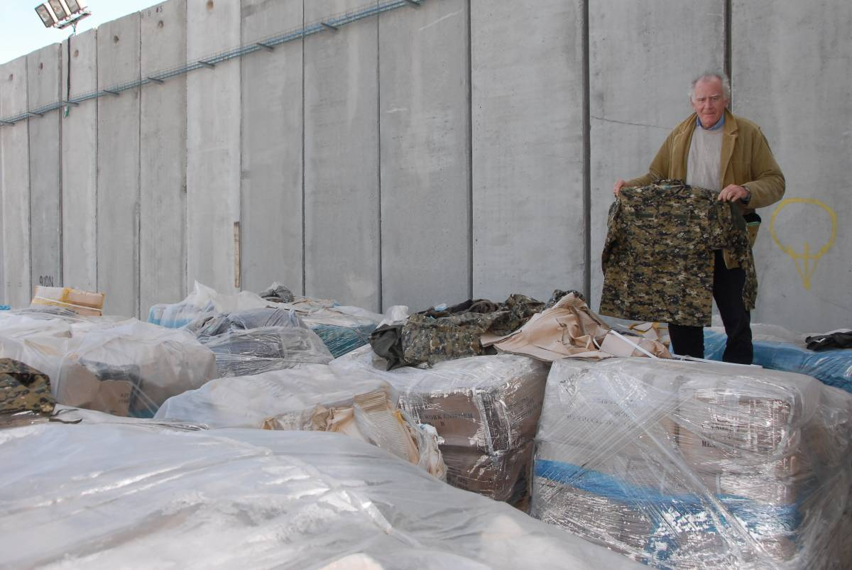 Aiuti della Croce Rossa: divise per Hamas