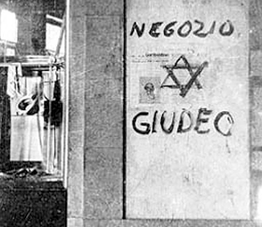 E il sindacato fa la lista di proscrizione dei negozianti ebrei