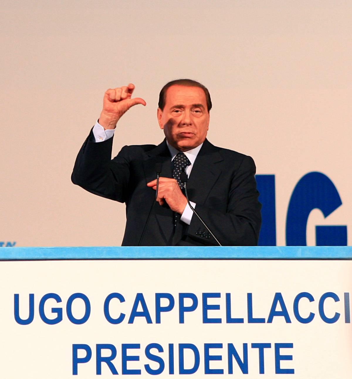 """Berlusconi avverte:  """"Riforma della giustizia  Con o senza il Pd"""""""