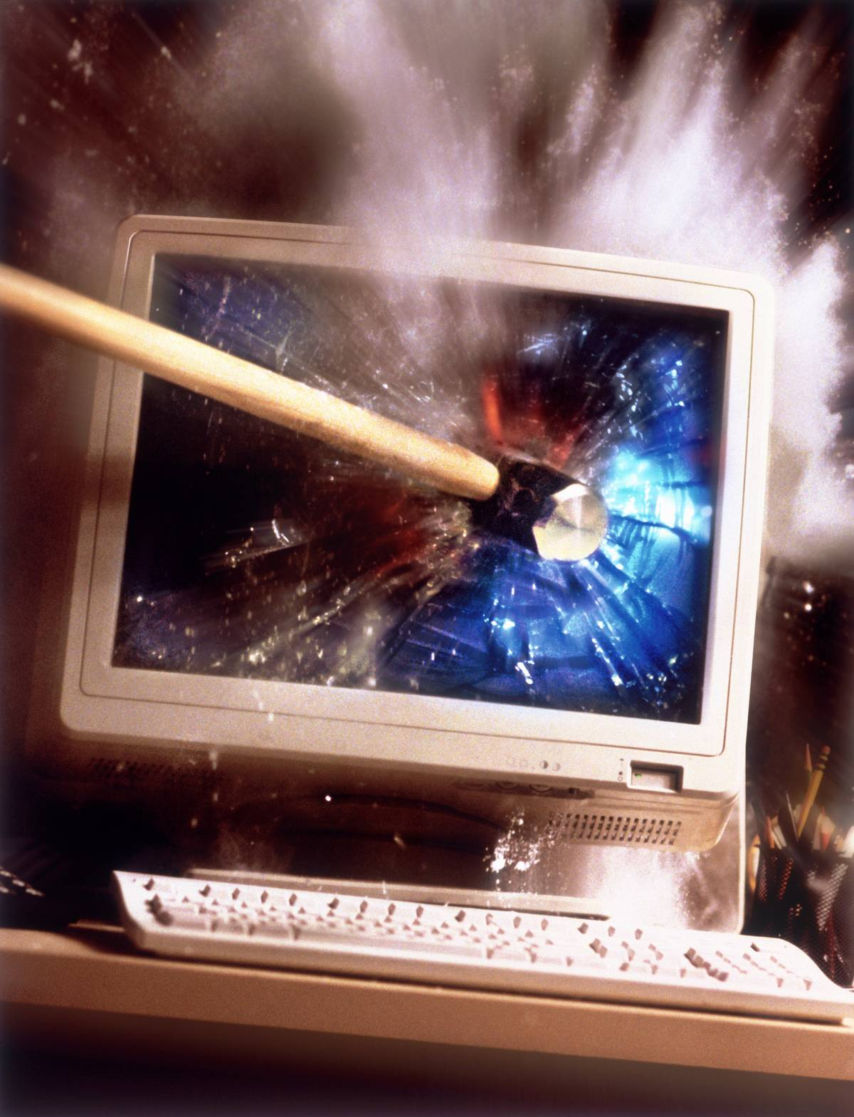 Ecco le ultime eco-vittime   La tv al plasma e Google...