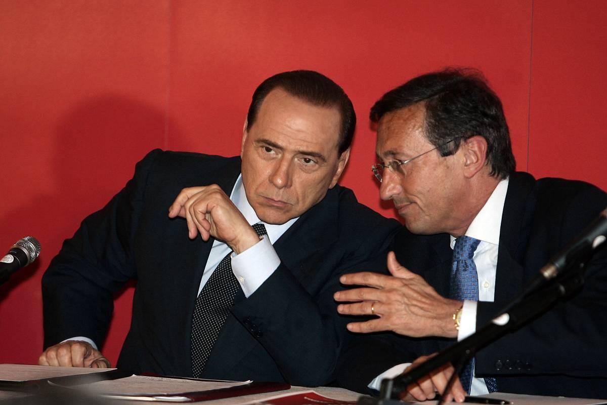 """Berlusconi: """"Bravo Fini,   presidente super partes"""""""