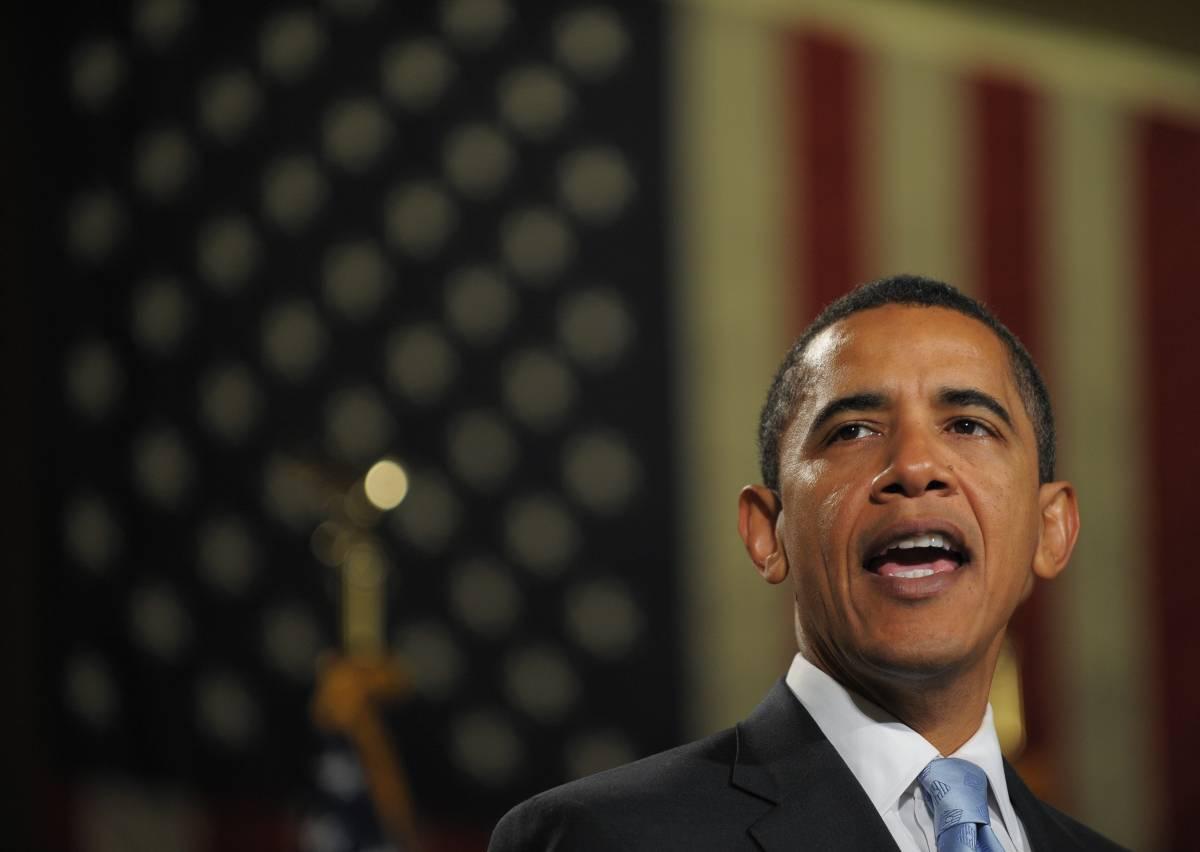 """Iniziato il viaggio di Obama verso Washington   """"Situazione molto difficile, ma ce la faremo"""""""