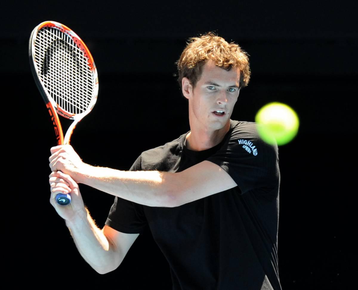 Tennis: Andy Murray, uno scozzese in Australia