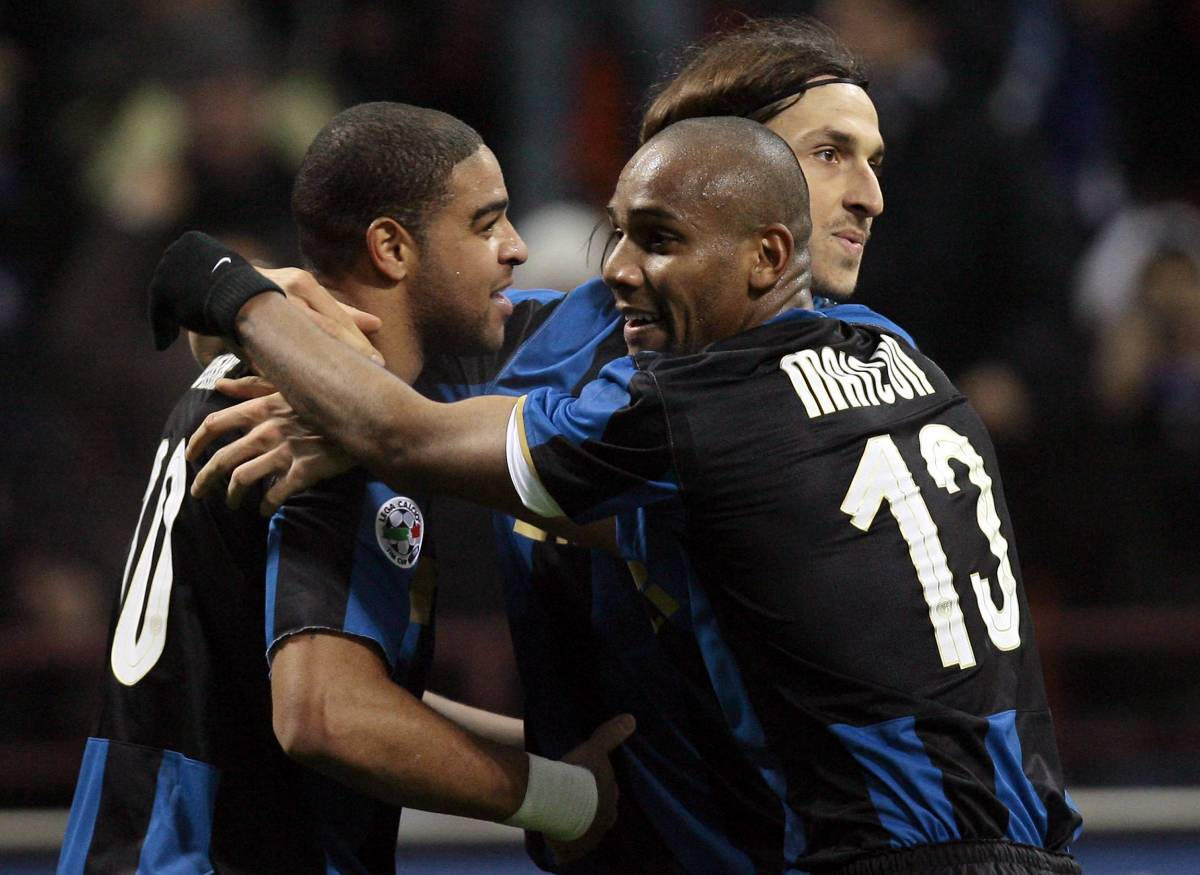 Adriano trascina l'Inter: Roma ko
