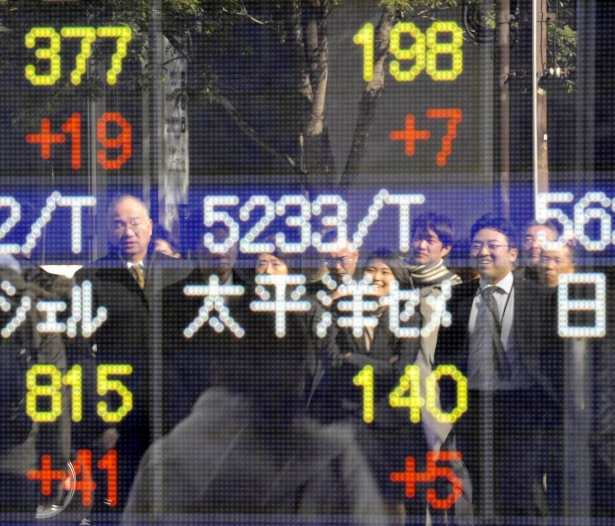 Tokyo, fondi anticrisi dal governo: Nikkei +5%