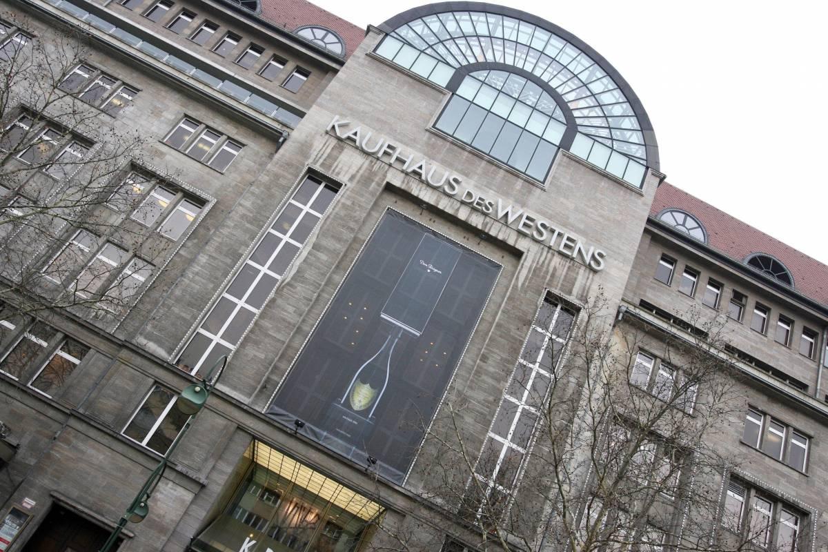 Berlino, maxi-furto al KaDeWe