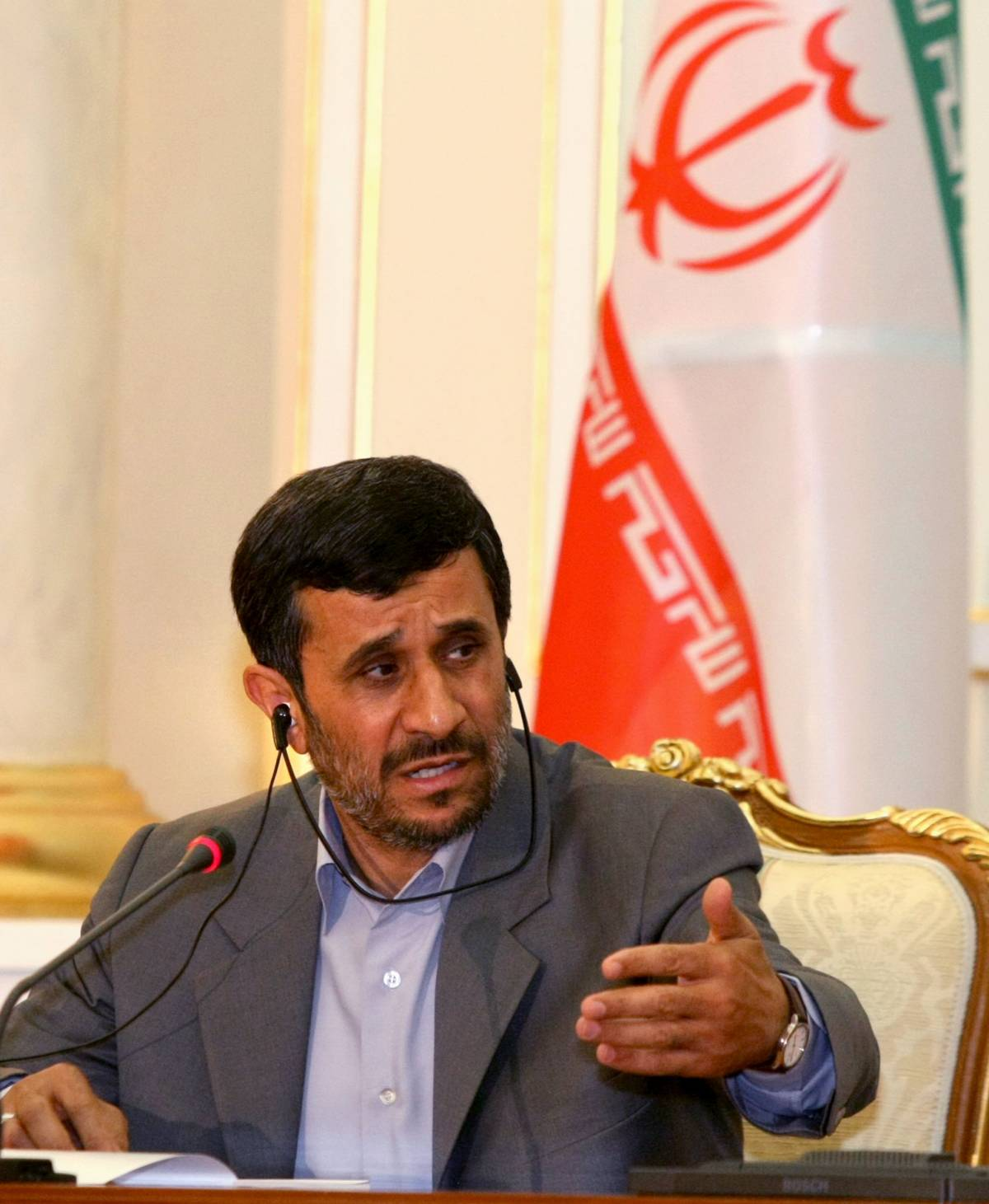 "Ahmadinejad: ""Gli israeliani? Sono micrubi distruttivi"""