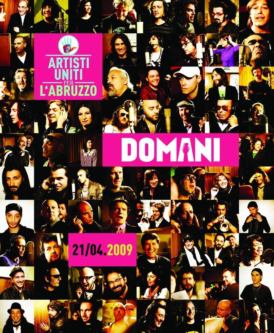 """Ecco il """"Live Aid"""" italiano:  56 big cantano per l'Abruzzo"""