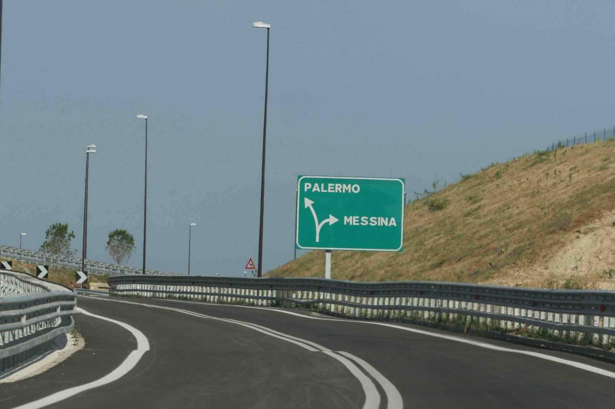 Palermo-Messina record:  ogni km due casellanti