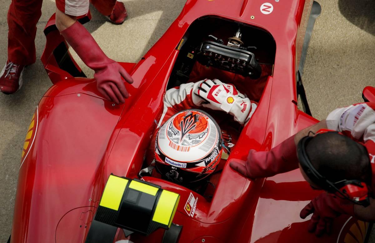 La Ferrari fa festa  anche a piccoli passi