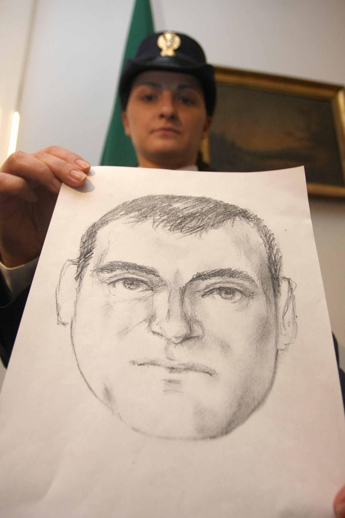 L'identikit del killer della panchina