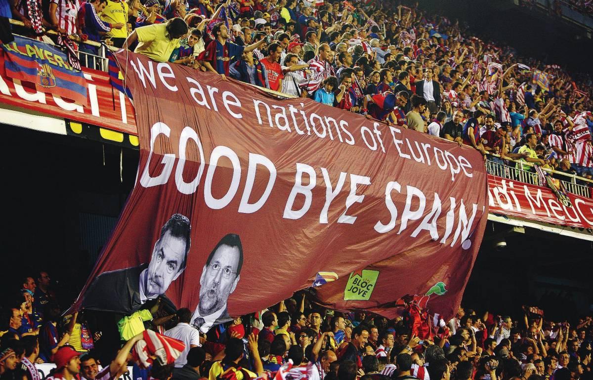 Stadio fischia Juan Carlos,  ma la tv spagnola oscura
