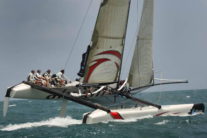 Vela, Venezia conquistata dai catamarani